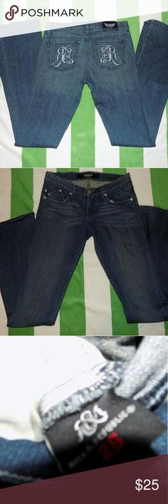 Rock & Republic   Kassandra Bootcut Jean Size 26 In excellent condition Rock & Republic Jeans Boot Cut