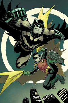 Batman and Robin #40 by Patrick Gleason