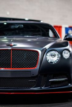 Bentley--not your everyday driver. Sexy Cars, Hot Cars, My Dream Car, Dream Cars, Mustangs, Bentley Gt, Black Bentley, Ferrari, Audi