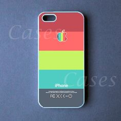 Iphone 5 Case - Colorful Stripes Iphone 5 Cover -  PRE ORDER (Ships Oct 1). $16.99, via Etsy.