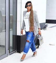Healthy, beautiful and glowing skin starts from the inside out. African American Braided Hairstyles, African American Braids, Braided Hairstyles For Black Women, Beret Outfit, Beyonce Blonde, Work Chic, Beautiful Braids, Womens Fashion, Fashion Trends