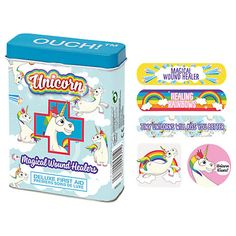 Unicorn Ouch Plasters, Pack of 24 Online at johnlewis.com