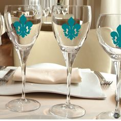 VINYL DECAL DIY Color Initial Names And Date Decals For - Vinyl decals for glassware