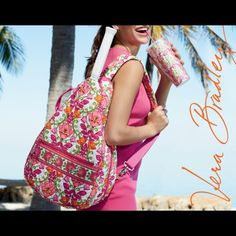 5ab6f418dc Vera Bradley Tennis Bag  Used 2-3 time   washed In great condition Vera