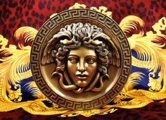 The head of Medusa is the focal point of the Versace logo because it represents beauty, art and philosophy. Logo Versace, Versace Shoes, Image Positive, Versace Wallpaper, Nasa Lies, The Better Angels, Medusa Head, Rick Ross, Cameo Jewelry