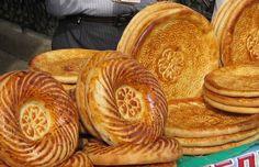 Obi Non - a kind of flatbread popular in Afghan and Uzbek cuisine