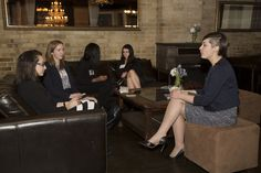 Networking in the lounge area #venue #RosehillVenue #guests #networking #event #elegance
