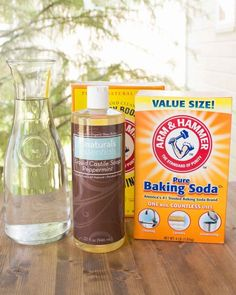 These two easy recipes for laundry detergent liquid makes 14 loads of non-toxic laundry detergent for about $3.oo and rates an A on the Environmental Working Group (EWG) Healthy Cleaning scale. Learn the simple way to make liquid detergent in small batches.