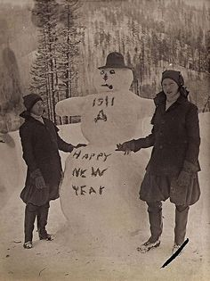100 years ago~this is a great idea and an awesome pic..I wonder where it was taken?