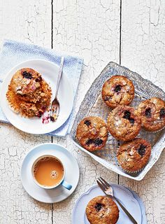Blackberry & apple muffins- These comforting bites are packed with British seasonal fruit.   Find the recipe in our September 2017 issue at coop.co.uk/foodmagazine