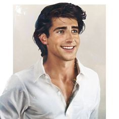 These Disney Princes (And Princesses) Illustrated As Real Life People Will Leave You Speechless