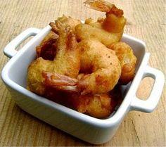 SANS GLUTEN SANS LACTOSE: Beignets de crevettes sans gluten et sans lactose