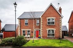 What's behind the red door? Take a look at this wonderful family home that is now available to buy in Lisburn, Northern Ireland #property #propertynews #propertynewsni #dailyproperty #forsale #buynow #familyhome #family #northernireland #lisburn #harmonyhill #reddoor #instagood #instagram #instalike #instadaily #instafollow #follow