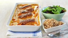 Kyllingfilet i form Chicken Wings, Lasagna, Macaroni And Cheese, Picnic, Low Carb, Lunch, Cooking, Ethnic Recipes, Food