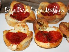 ~Deep Dish Pizza Muffins! | Oh Bite It