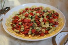 Tomato & Cucumber Salad with Fresh Basil