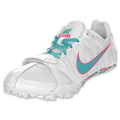 The Nike Zoom Rival S 6 Women's Track Spike.....I NEED THESE!!! Why are they only onlineee??