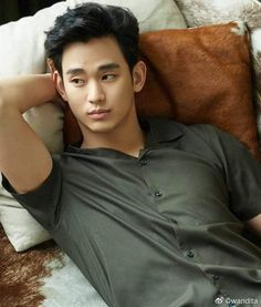 Hermoso 💚 #KimSooHyun Polo Shirt, Mens Tops, Shirts, Fashion, Sweetie Belle, Moda, Polos, Fashion Styles, Polo Shirts