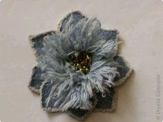 Flor de mezclilla 12