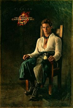 The Hunger Games: Catching Fire. Capitol Portrait - Finnick (Sam Claflin)