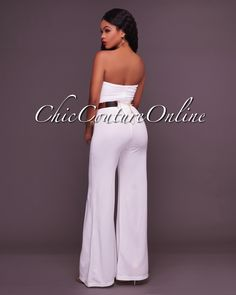 Chic Couture Online - Vince Off-White Plunging V Neckline Jumpsuit,  (http://www.chiccoutureonline.com/vince-off-white-plunging-v-neckline-jumpsuit/)