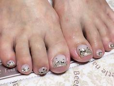 Nail Art - Beetle Nail : 八幡|フットネイル