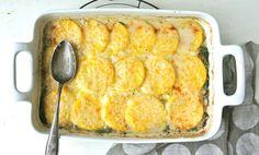 Spinach Mushroom PolentaCasserole Recipe - Relish