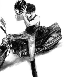 Levi picking up Eren from school. Levi Ackerman, Levi X Eren, Attack On Titan Levi, Ereri, Levihan, Atack Ao Titan, Zero Kiryu, Rivamika, Manga Boy