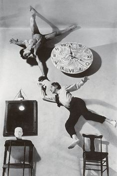 Philippe Halsman (1906-1979) provides some much needed levity inMasculin / Masculinat Musée d'Orsay in his portrait of Jean Cocteau and fr...