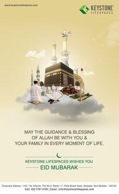Keystone Lifespaces wishes you all Eid Mubarak #Eid2017 #Festival #Celebration