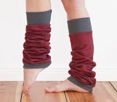 Yoga leg warmers yoga socks dancer socks cotton leg by jaffic