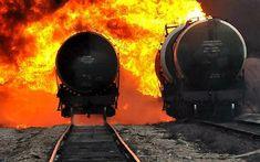 Latvia train crash causes fuel tank explosion - Telegraph