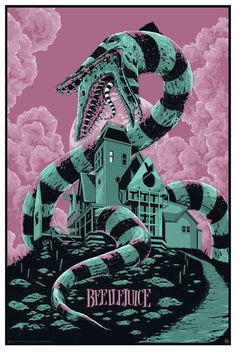 Ken Taylor Beetlejuice Poster