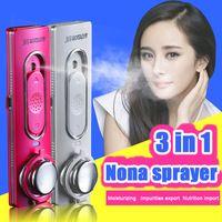 Ion export import china sprayer moisturizing facial steamer face humidifier nanotechnology products nano mist face steamer