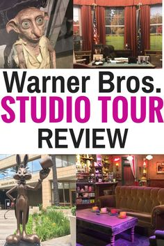The Warner Bros Studio Tour in Hollywood is a must-do when visiting Los Angeles, California. Be sure to add this tour to your LA travel guide.
