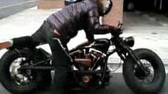 Harley-Davidson shovelhead 1973fx, via YouTube.