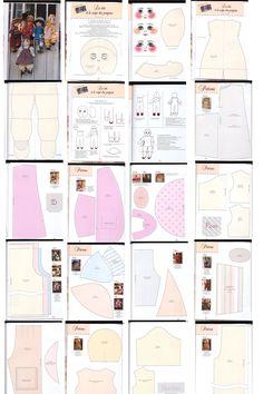 1/2 rag doll pattern.  ..•♥... Nims...♥•