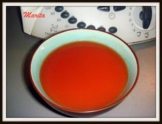 El rinconcito de Mar: Gazpacho de fresas (Thermomix)