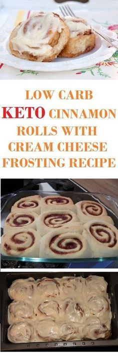 You will definitely love these low carb cinnamon roles.
