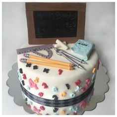 Math teacher birthday cake !