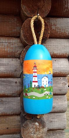 """""""Hand Painted"""" Buoy Balls """"Hand Painted"""" real foam fishing buoys. These styrofoam buoys are hand ..."""