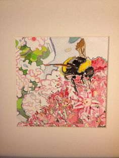 Little bee Bee, Paintings, Painting Art, Bees, Painting, Paint, Draw, Portrait, Illustrations