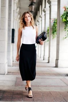 40 Easy and Comfortable Work Outfits For Summer 2017