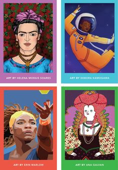 A children's book that reinvents fairy tales, inspiring girls with the stories of 100 great women from Elizabeth I to Serena Williams.