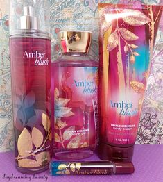 A review of the new fall scent from Bath and Body Works, Amber Blush. #BathandBodyWorks