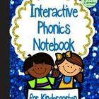 Interactive Notebook: Phonics and Phonemic Awareness  {Kindergarten}