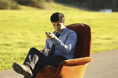 """When a conflict in Eastern Europe threatens to escalate, Team Scorpion is called on to help facilitate secret peace talks to prevent World War I-II. """"Once Bitten, Twice Die"""". Pictured: Elyes Gabel as Walter O'Brien, Photo: Michael Yarish/CBS ©2015 CBS Broadcasting, Inc. All Rights Reserved"""