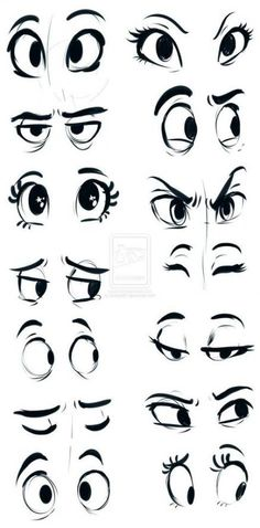 How to draw cartoon eyes? Yes, it is very easy to draw cartoon eyes. The eyes are among the most important features for any cartoon. Drawing Eyes, Drawing Sketches, Pencil Drawings, Sketching, Cartoon Eyes Drawing, Eye Sketch, Drawing Cartoons, Cartoon Sketches, Cartoon Illustrations