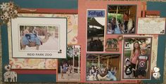 CTMH Florence Workshops Your Way kit zoo two page layout