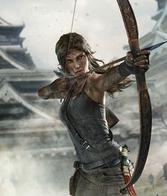 Tomb Raider Definitive Edition by Brenoch Adams, via Behance